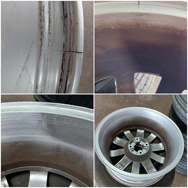Réparation et rénovation de jante aluminium